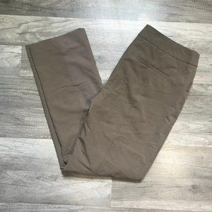 CHICOS Size 0 Short  Pants Solid Brown  Size 4P